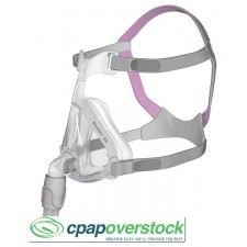 Quattro™ Air for Her Full Face Mask with Headgear - small